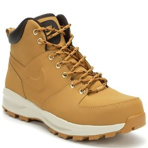 Nike Manoa Leather Lace-Up Boots